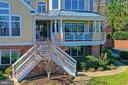 Beautiful wrap around porch - 94 CANTERBURY DR, STAFFORD