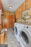 Laundry Room with front loading washer and dryer - 94 CANTERBURY DR, STAFFORD
