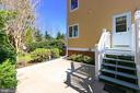 Lower Level patio - 94 CANTERBURY DR, STAFFORD