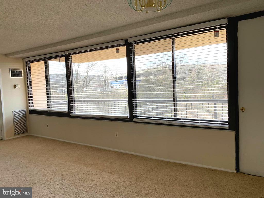 Seller Recently Removed Dated Blinds throughout!! - 5500 HOLMES RUN PKWY #805, ALEXANDRIA