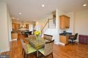 Adjoining breakfast room~off of kitchen. - 13291 APRIL CIR, LOVETTSVILLE