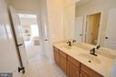 Jack and Jill bathroom. - 13291 APRIL CIR, LOVETTSVILLE