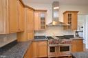 Ceramic backsplash~and granite countertops! - 13291 APRIL CIR, LOVETTSVILLE