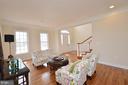 Light and bright formal living room. - 13291 APRIL CIR, LOVETTSVILLE