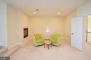 Master suite sitting area - 13291 APRIL CIR, LOVETTSVILLE