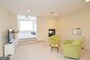 Master suite sitting area. - 13291 APRIL CIR, LOVETTSVILLE