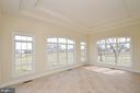 Light and bright sun-room. - 13291 APRIL CIR, LOVETTSVILLE
