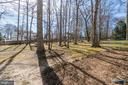 Plenty of room to play on this large, level lot - 1113 JOHN PAUL JONES DR, STAFFORD