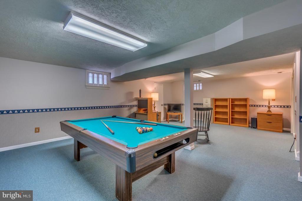 Recreation room for family fun - 1113 JOHN PAUL JONES DR, STAFFORD