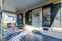 Private Front Porch - 4115 10TH ST NE, WASHINGTON