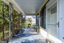 Private Front Porch with afternoon Sunlight - 4115 10TH ST NE, WASHINGTON
