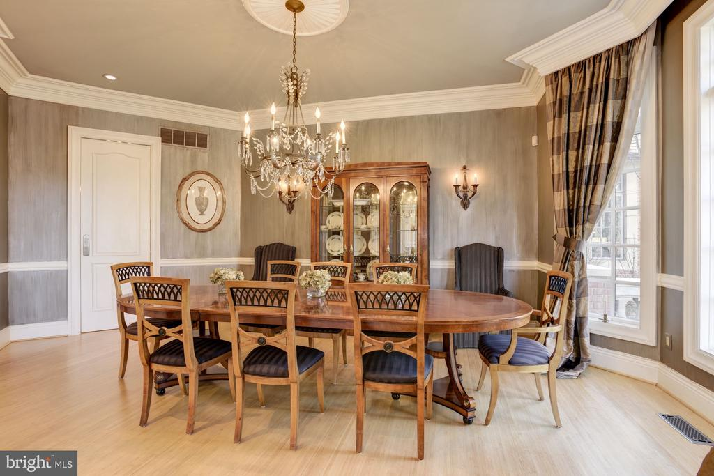 Sun-Filled Formal Dining Room - 8544 LEISURE HILL DR, BALTIMORE