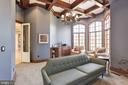 Library / Study W/ Large Bay Windows - 8544 LEISURE HILL DR, BALTIMORE