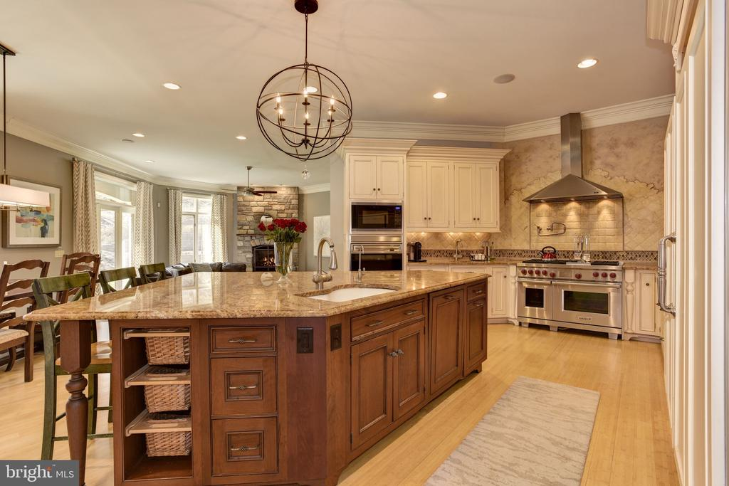 Gourmet Kitchen - 8544 LEISURE HILL DR, BALTIMORE