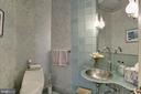 Main Level Half Bath - 8544 LEISURE HILL DR, BALTIMORE