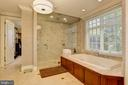 Owner's Suite Bathroom - 8544 LEISURE HILL DR, BALTIMORE
