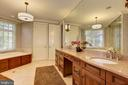 Owner's Suite Luxurious Bathroom - 8544 LEISURE HILL DR, BALTIMORE