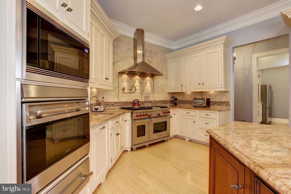 Gourmet Kitchen w/ Stainless Steel Appliances - 8544 LEISURE HILL DR, BALTIMORE