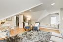 Cozy sitting area in Master Suite - 4115 10TH ST NE, WASHINGTON