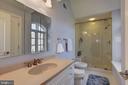 Bedroom en-suite #3 Full Bath - 8544 LEISURE HILL DR, BALTIMORE