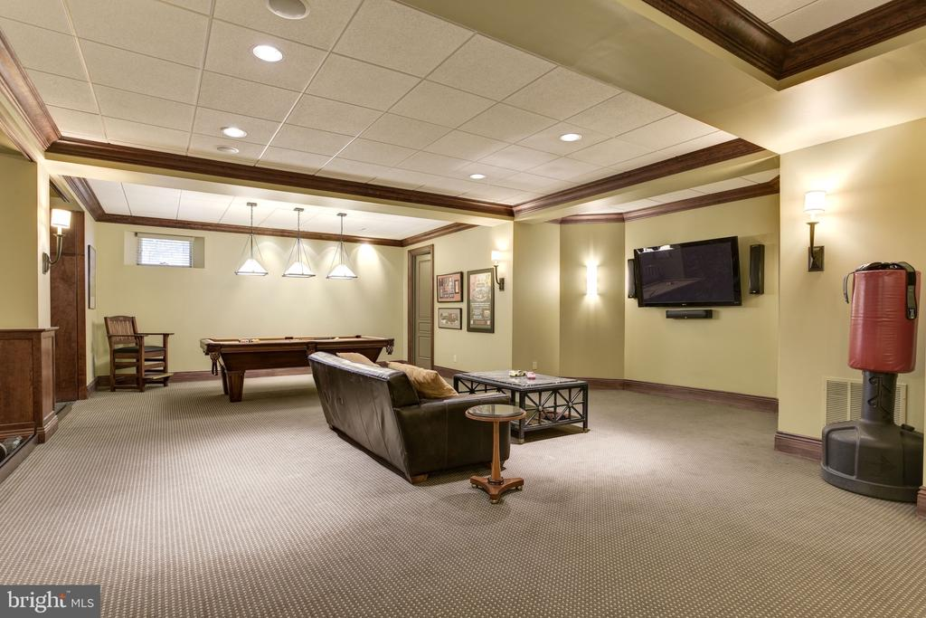 Lower Level Family Room - 8544 LEISURE HILL DR, BALTIMORE