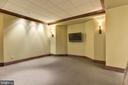 Lower Level Movie Theatre - 8544 LEISURE HILL DR, BALTIMORE