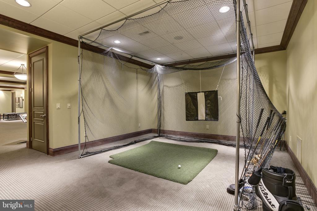 Lower Level Game Room - 8544 LEISURE HILL DR, BALTIMORE