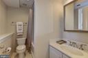 Guest Bathroom (Level One) - 632 PONTE VILLAS SOUTH #146, BALTIMORE
