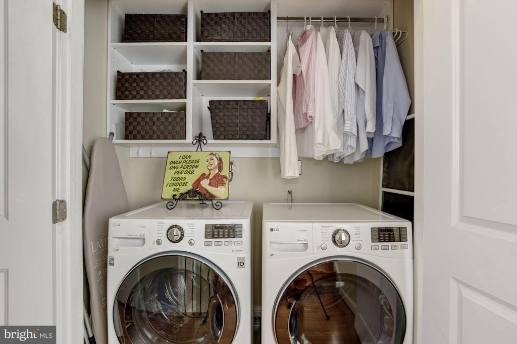 Master Bedroom Level Laundry Area - 632 PONTE VILLAS SOUTH #146, BALTIMORE