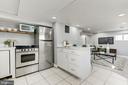 Open lower level kitchen - 4115 10TH ST NE, WASHINGTON