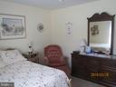 bedroom 1 main level - 317 BURMAN LANE, FREDERICKSBURG