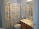 main level bathroom - 317 BURMAN LANE, FREDERICKSBURG