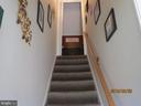 hallway to upstairs - 317 BURMAN LANE, FREDERICKSBURG