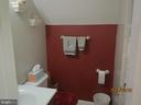 upstairs full bathroom - 317 BURMAN LANE, FREDERICKSBURG