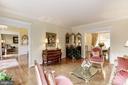 Hardwood floors in the Living Room - 1114 ROUND PEBBLE LN, RESTON