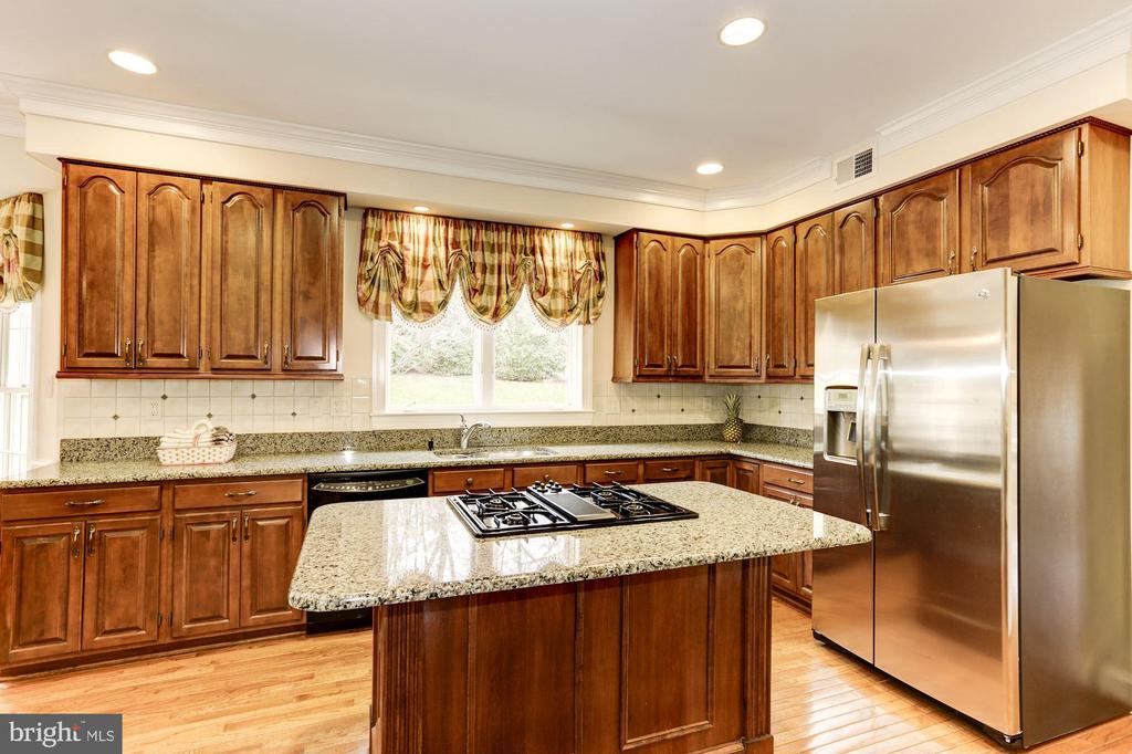 Granite counters and new SS appliances enhance Kit - 1114 ROUND PEBBLE LN, RESTON