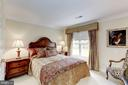 Spacious bedroom 3 has views of the backyard - 1114 ROUND PEBBLE LN, RESTON