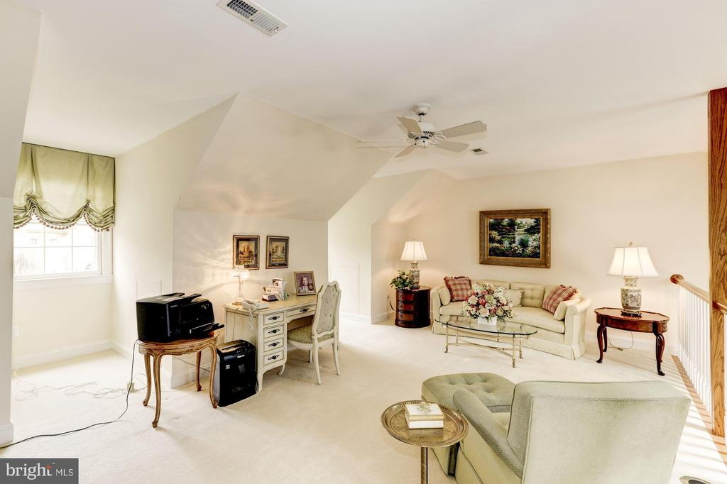 Dormers bring in tons of light in the loft - 1114 ROUND PEBBLE LN, RESTON
