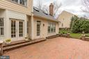 Access to patio from breakfast area and FR - 1114 ROUND PEBBLE LN, RESTON