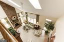 Loft overlooks the family Room - 1114 ROUND PEBBLE LN, RESTON