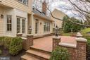 Stunning Brick patio has two levels.Loevly - 1114 ROUND PEBBLE LN, RESTON