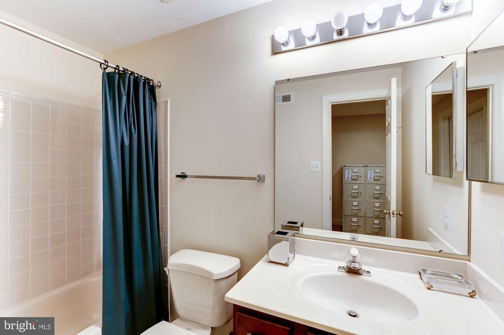 Full bathroom in the Lower Level - 1114 ROUND PEBBLE LN, RESTON