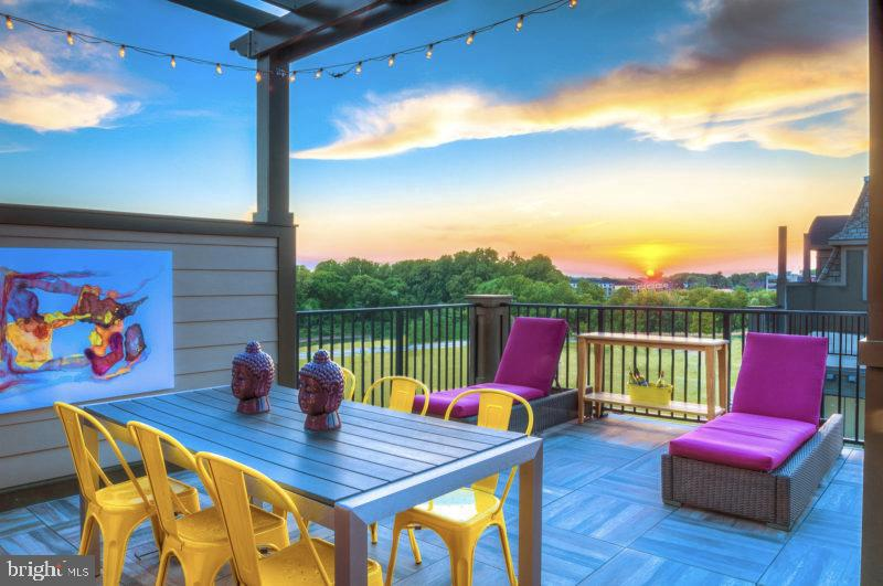 Outdoor Dining Terrace - 324 STEINBECK AVE, GAITHERSBURG