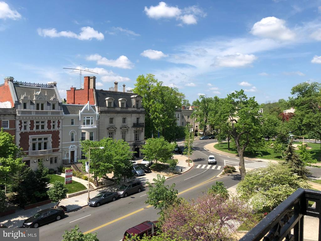 View of Sheridan Circle from 2211 - 2211 MASSACHUSETTS AVE NW, WASHINGTON