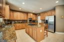 Kitchen with Double Ovens - 30 PROSPECT DR, FREDERICKSBURG