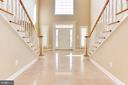 Dramatic Grand Entry Foyer - 42739 CEDAR RIDGE BLVD, CHANTILLY