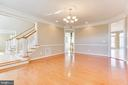 Spacious Dining Room - 42739 CEDAR RIDGE BLVD, CHANTILLY
