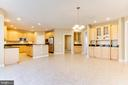 Open Gourmet Kitchen With Large Island - 42739 CEDAR RIDGE BLVD, CHANTILLY