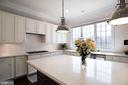 Love this Caesarstone island and kitchen! - 43263 PARKERS RIDGE DR, LEESBURG