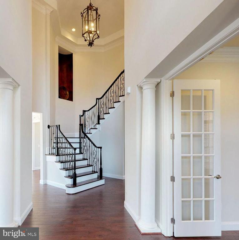 Love this entrance! - 43263 PARKERS RIDGE DR, LEESBURG